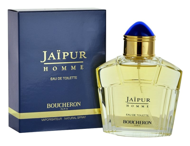 Boucheron Jaïpur Homme Eau de Toilette for Men 50 ml