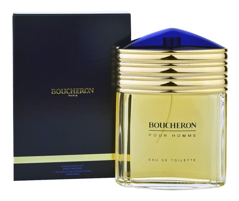 Boucheron Pour Homme Eau de Toilette for Men 100 ml