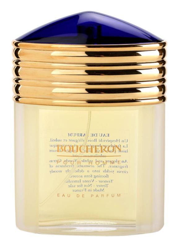 Boucheron Pour Homme Parfumovaná voda tester pre mužov 100 ml