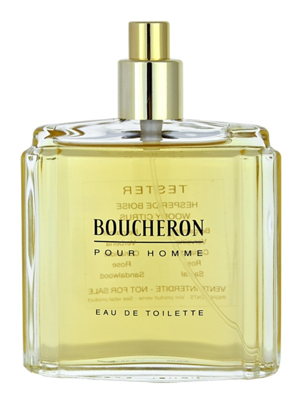 Boucheron Pour Homme toaletní voda tester pro muže 100 ml