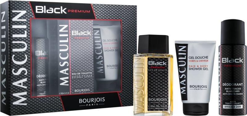 Bourjois Masculin Black Premium darčeková sada I.