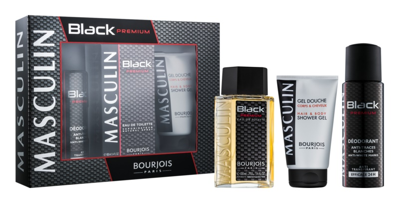 Bourjois Masculin Black Premium Gift Set  I.