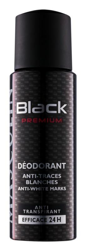 Bourjois Masculin Black Premium déo-spray pour homme 200 ml