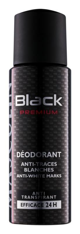 Bourjois Masculin Black Premium deospray per uomo 200 ml
