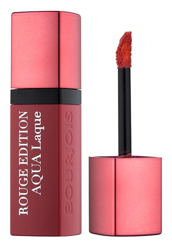 Bourjois Rouge Edition Aqua Laque rouge à lèvres hydratant brillance intense