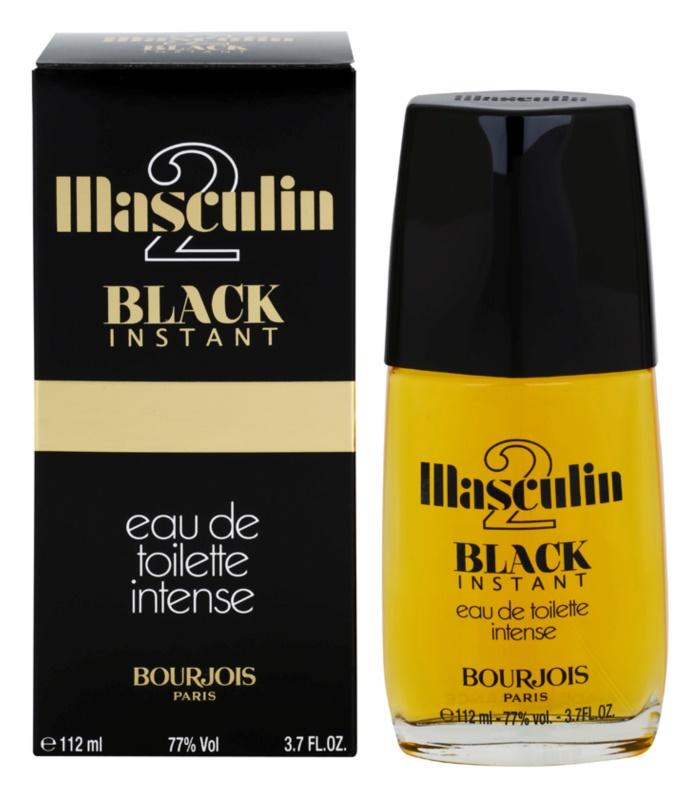Bourjois Masculin Black Instant eau de toilette per uomo 112 ml