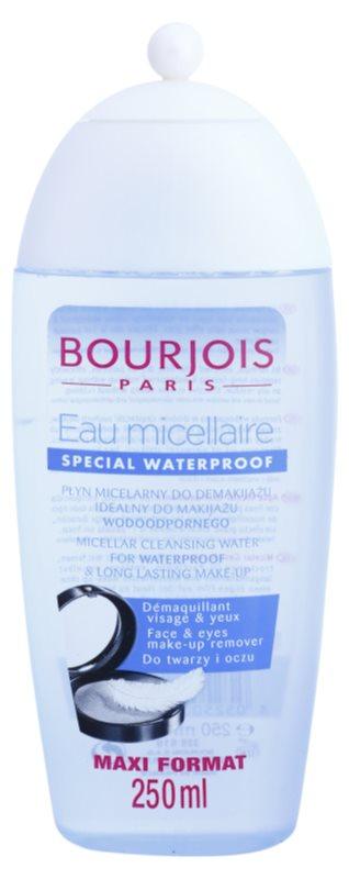 Bourjois Cleansers & Toners mizellares Reinigungswasser für wasserfestes Make up