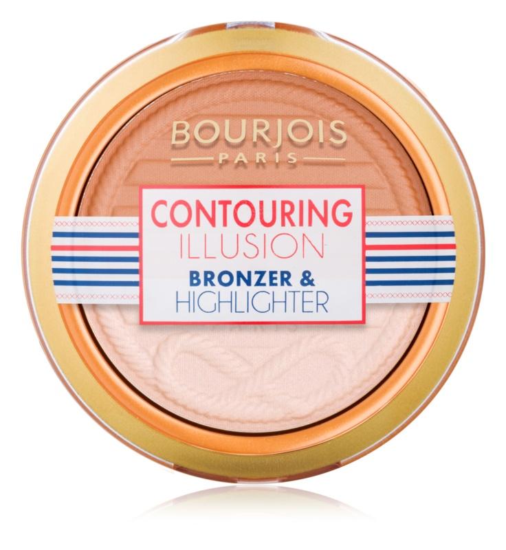 Bourjois Contouring Illusion pudra  bronzanta