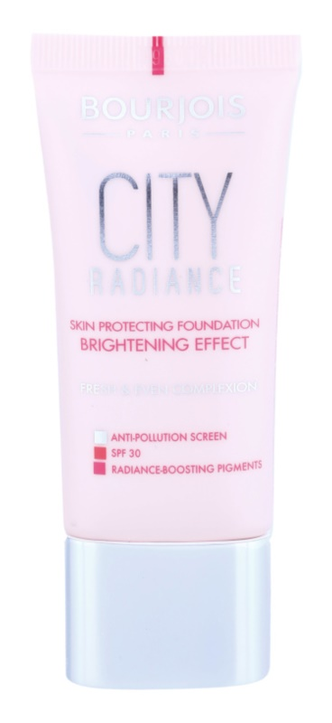 Bourjois City Radiance schützendes Make-up SPF 30