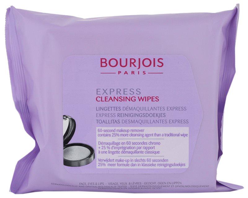 Bourjois Express čisticí ubrousky