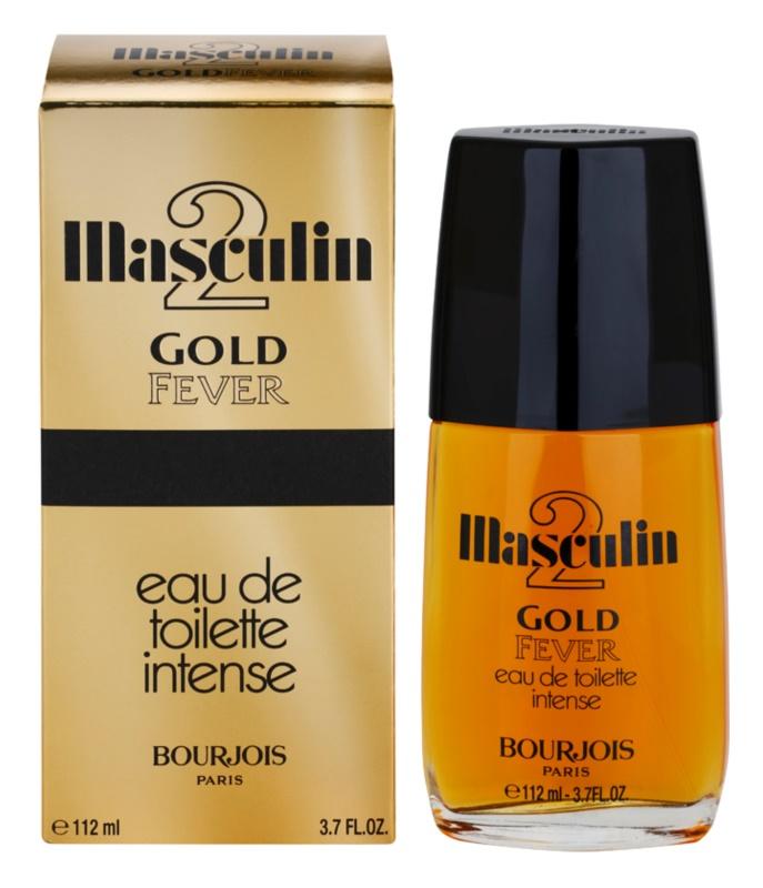 Bourjois Masculin Gold Fever toaletní voda pro muže 112 ml