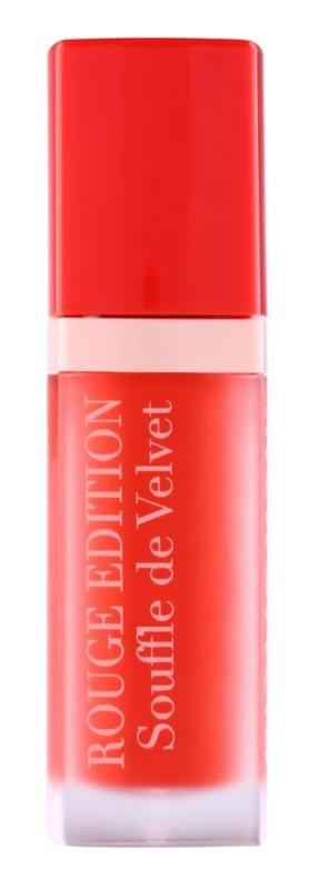 Velvet Liquid Lipsticks Kylie Cosmetics: BOURJOIS ROUGE EDITION SOUFFLE DE VELVET Liquid Lipstick