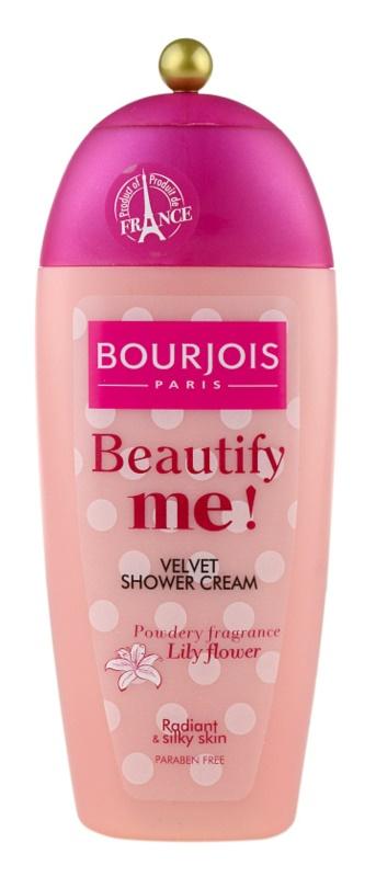 Bourjois Beautify Me! crema de ducha sin parabenos