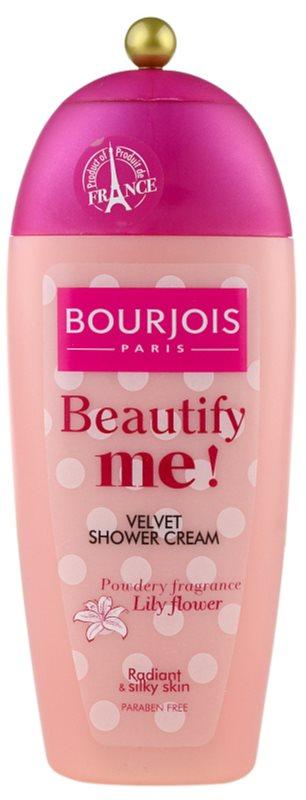 Bourjois Beautify Me! creme de duche sem parabenos