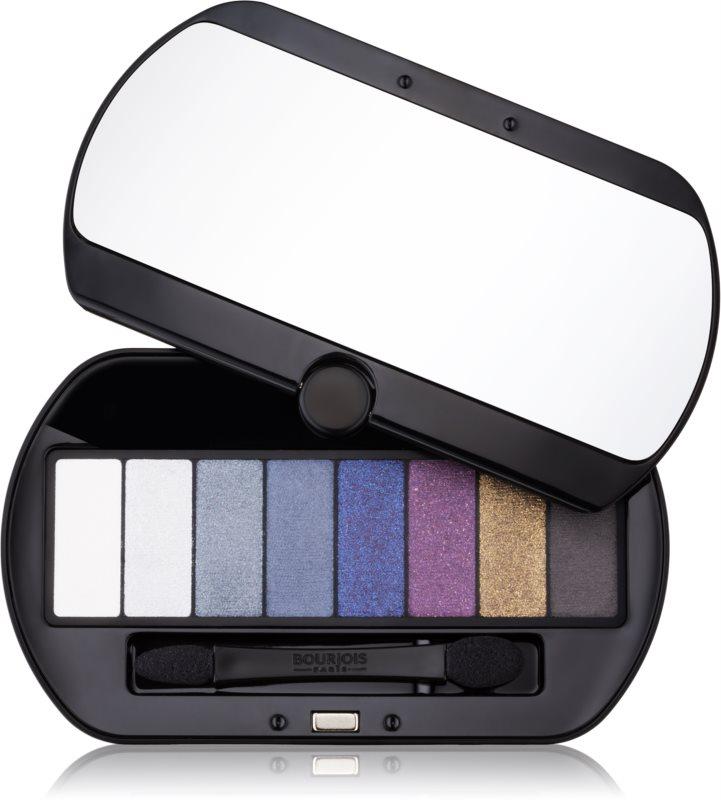 Bourjois Le Smoky paleta očných tieňov 8 farieb