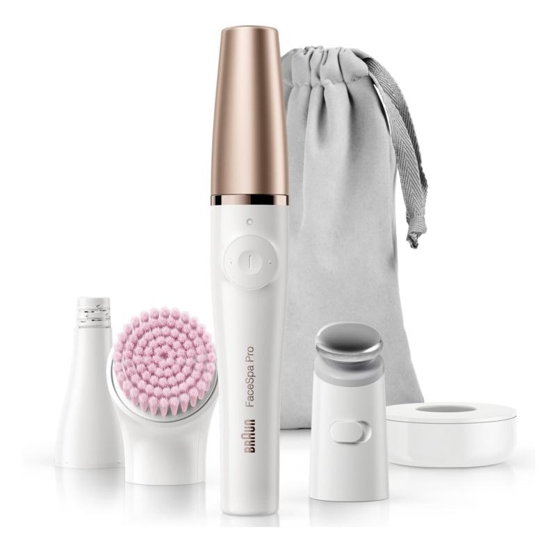 Braun FaceSpa Pro 912 sistem 3 în 1 pentru epilarea feței, revitalizarea și tonifierea tenului