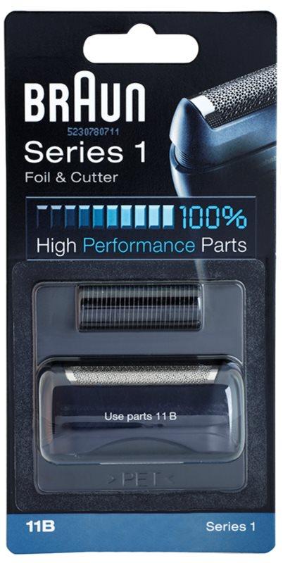 Braun Series 1  11B CombiPack Foil & Cutter Scheerblad met Folie en Scheermessen