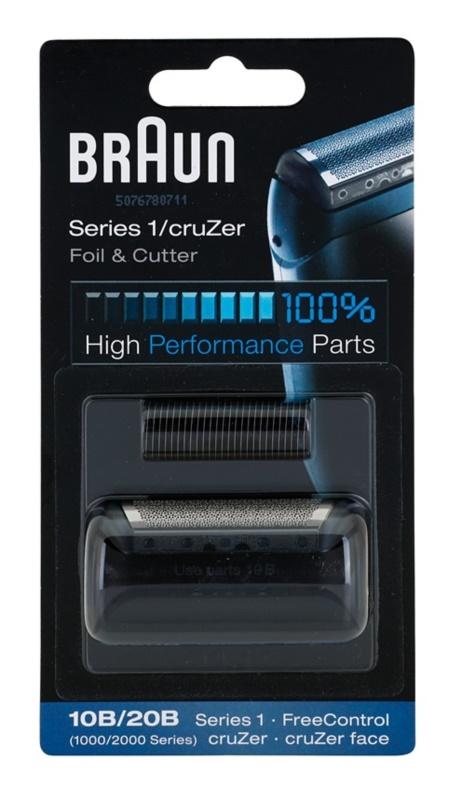 Braun Series 1  10B/20B CombiPack CruZer Foil & Cutter Scherfolie und Scherblatt