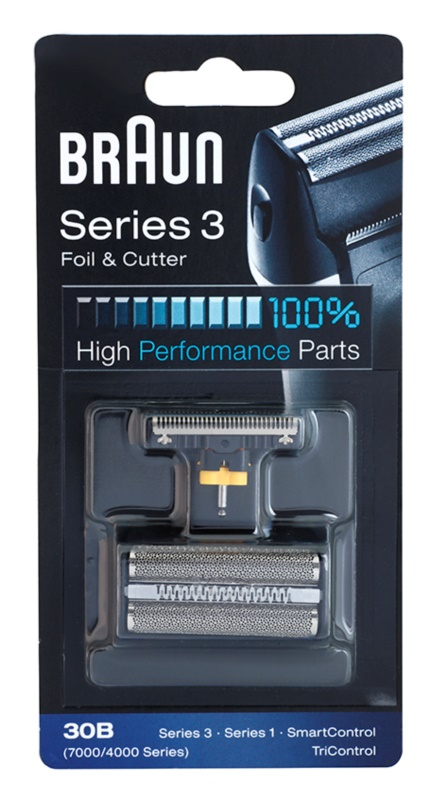 Braun Series 3  30B CombiPack Foil & Cutter láminas de recambio + lote de cuchillas de recambio