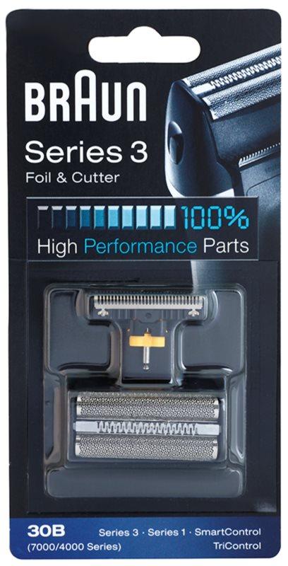 Braun Series 3  30B CombiPack Foil & Cutter planžeta a stříhací lišta