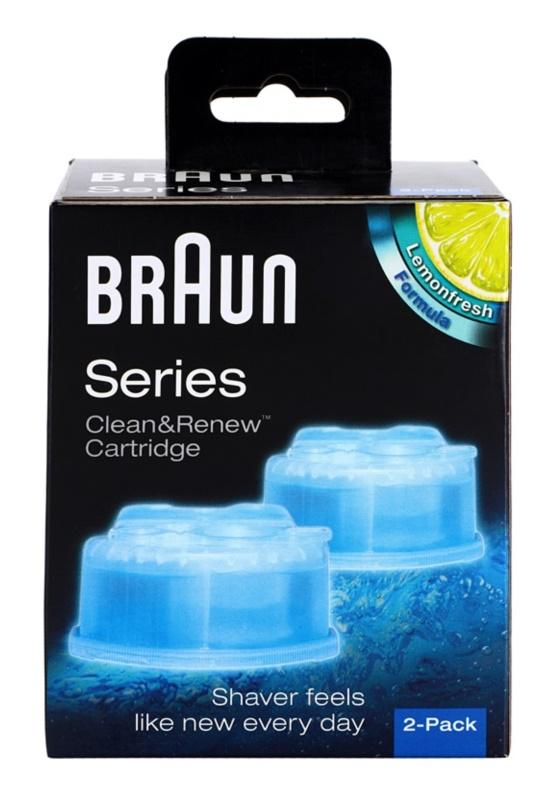 Braun Series Clean & Renew nadomestne kartuše za čistilno postajo