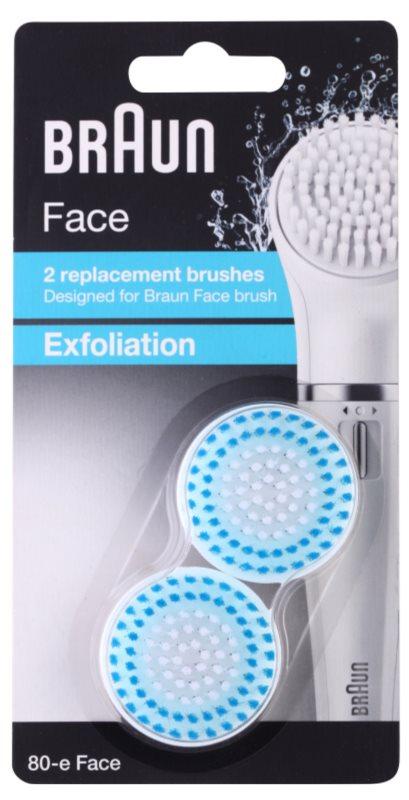 Braun Face 80-e Exfoliation Spare Heads 2 pcs