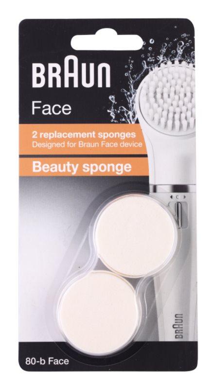 Braun Face 80-b Beauty Sponge tête de rechange 2 pcs