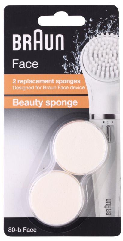 Braun Face 80-b Beauty Sponge Vervangende Opzetstuk  2st.