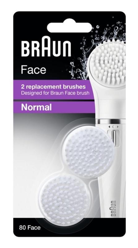 Braun Face  80 Normal tartalék kefék 2 db
