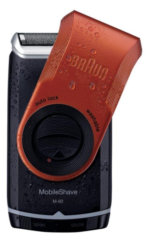 Braun MobileShave  M-60r cestovní holící strojek