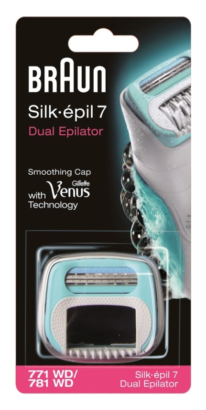 Braun Silk épil 7 Dual recarga de cabeça com lâminas Braun