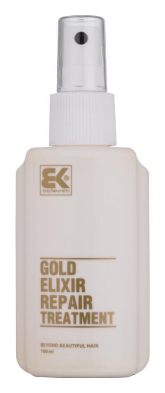 Brazil Keratin Gold olajos ápolás a táplálásért és hidratálásért