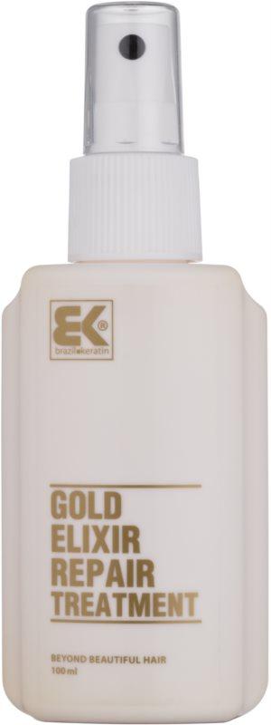Brazil Keratin Gold olejová péče pro výživu a hydrataci