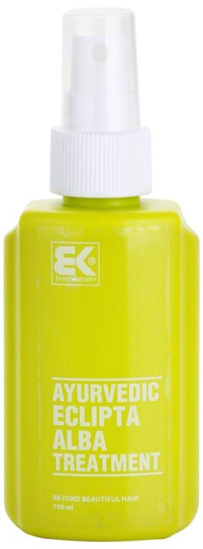 Brazil Keratin Ayurvedic Eclipta revitalizacijski serum za okrepitev in rast las