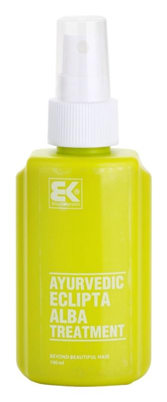 Brazil Keratin Ayurvedic Eclipta revitalizáló szérum a haj növekedéséért és megerősítéséért a hajtövektől kezdve