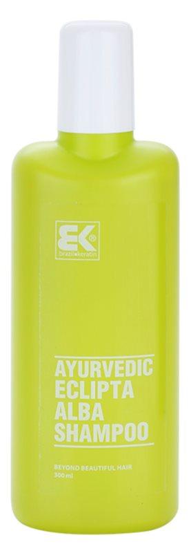 Brazil Keratin Ayurvedic Eclipta Natuurlijke Kruiden Shampoo  zonder Suflaat en zonder Parabeen