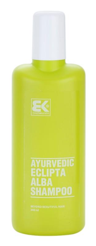 Brazil Keratin Ayurvedic Eclipta přírodní bylinný šampon bez sulfátů a parabenů