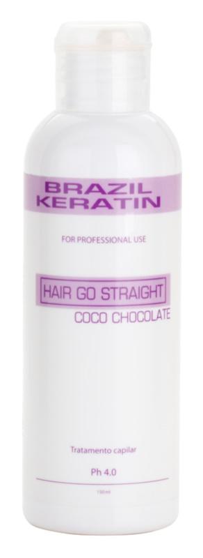 Brazil Keratin Coco špeciálna ošetrujúca starostlivosť pre uhladenie a obnovu poškodených vlasov