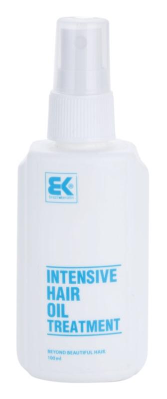 Brazil Keratin Hair Oil trattamento intensivo all'olio per idratazione e brillantezza