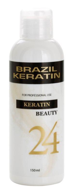 Brazil Keratin Beauty Keratin tratamento especial para alisamento e renovação de cabelo danificado