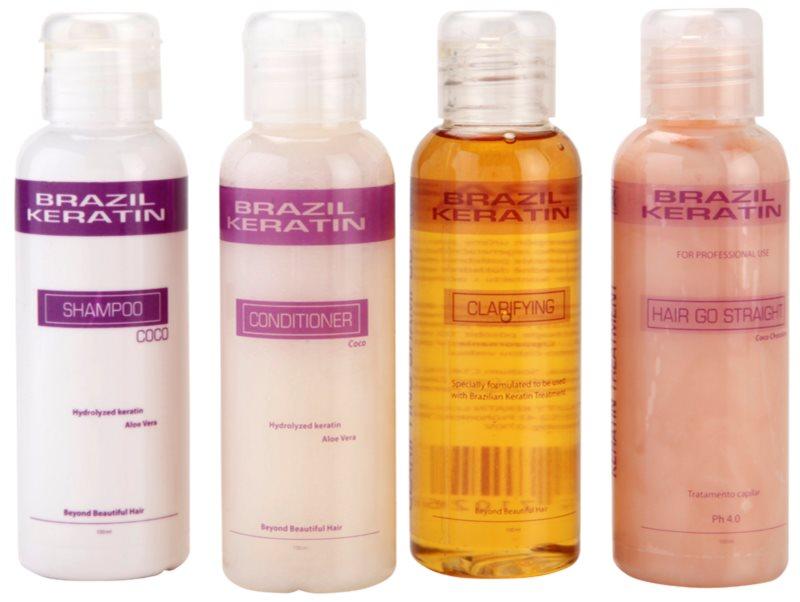 Brazil Keratin Start Set lote cosmético I.