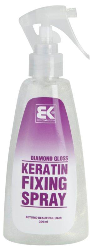Brazil Keratin Styling keratínový fixačný sprej s trblietkami