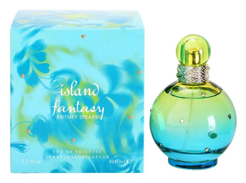 Britney Spears Fantasy Island eau de toilette pour femme 100 ml
