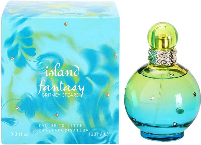 Britney Spears Fantasy Island Eau de Toilette voor Vrouwen  100 ml
