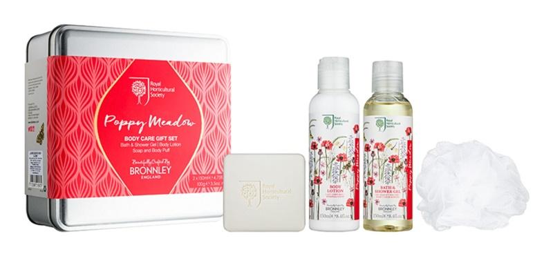 Bronnley Poppy Meadow Cosmetic Set I.