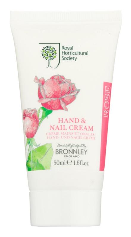 Bronnley Rose crema para manos y uñas