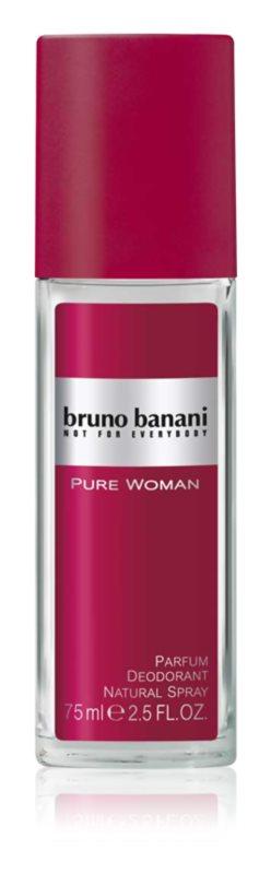 Bruno Banani Pure Woman deodorant s rozprašovačem pro ženy 75 ml