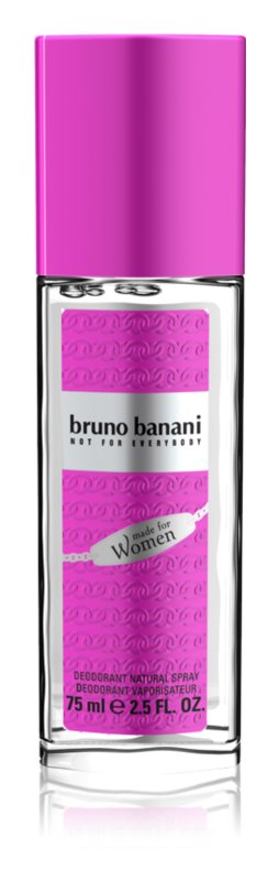 Bruno Banani Made for Women дезодорант з пульверизатором для жінок 75 мл