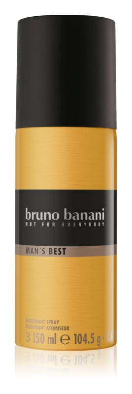 Bruno Banani Man's Best Deo Spray voor Mannen 150 ml