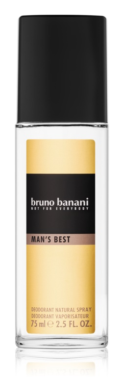 Bruno Banani Man's Best Perfume Deodorant for Men 75 ml